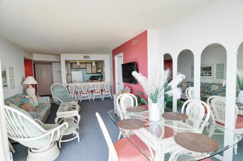 Living Area - St. Regis 2309 -3BRS_8 - North Topsail Beach - rentals