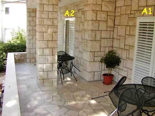Apartments Dubravka - 30251-A2 - Image 1 - Baska Voda - rentals