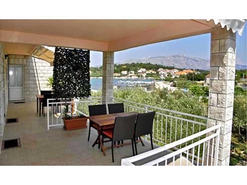 Apartments Željko - 51391-A1 - Image 1 - Lumbarda - rentals