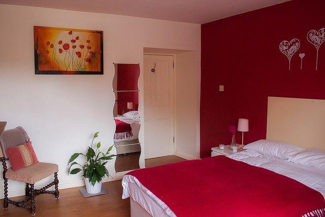 Downstairs Bedroom - Gorgeous 2 story, 2 bedroom apartment in West Cork - Northern Ireland - rentals