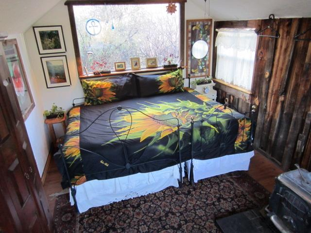 This sweet little cabin has mountain views, bathroom, coffee maker, continental breakfast provided - Billy's Bungalow - Glenwood - rentals