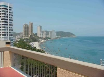 Views, Sunsets, Mountain air, Ocean Breezes.. - Oceanfront Penthouse Condo Facing the Caribbean - Santa Marta - rentals