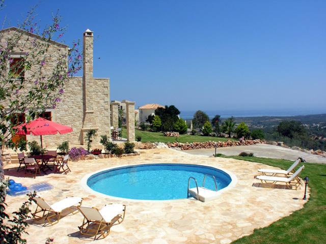 3 bedroom villa in Rethymno - Image 1 - Xiro Chorio - rentals