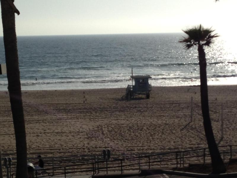 View from Front Windows - Charming Beachfront on The Strand ...Steps to the Sand! - Manhattan Beach - rentals