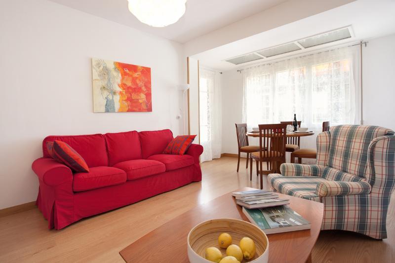 Living room - Fira-Eixample apartment - Barcelona - rentals