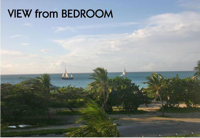 View from bedroom - Aruba time share. Jan 11-18 - Sierra Nevada - rentals