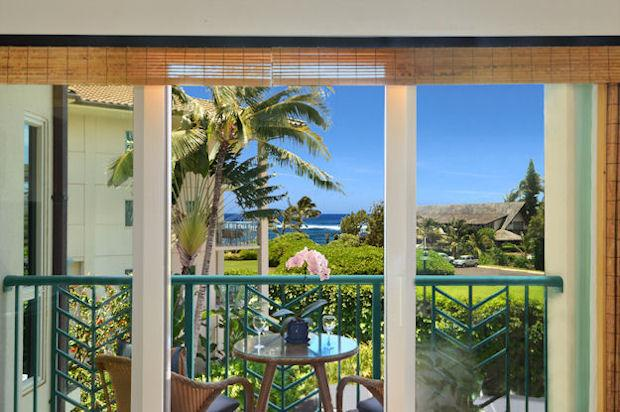 Oceanview from Lanai - Waipouli Beach Resort F301 - Kapaa - rentals