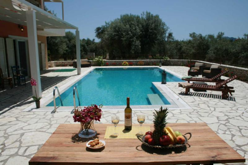 Private secluded villa with very big swimming pool - Image 1 - Lefkas - rentals