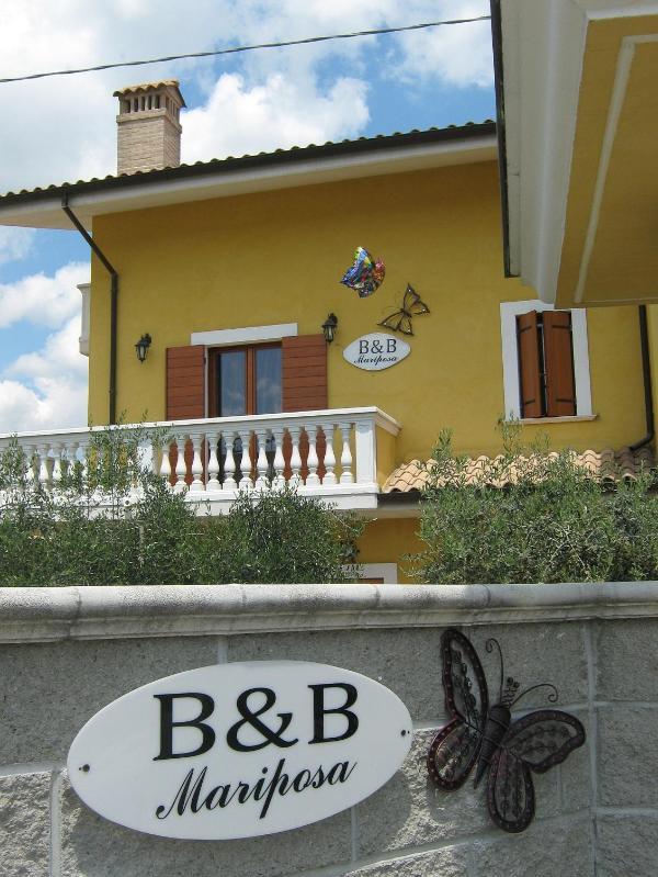 esterno b&b mariposa - B&B Mariposa sulle colline Abruzzesi con uliveti - Collecorvino - rentals
