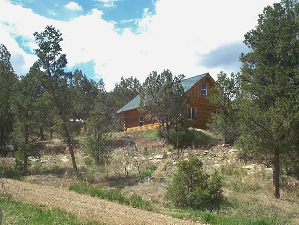 Log Cabin on the hill - Cherry Creek Mountain Ranch - Log Cabin - Tonalea  Navajo County - rentals