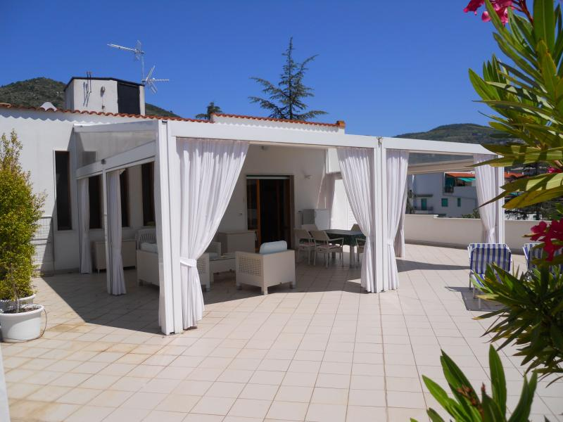 Terrace - Fantastic roof terrace in Liguria - Pietra Ligure - rentals