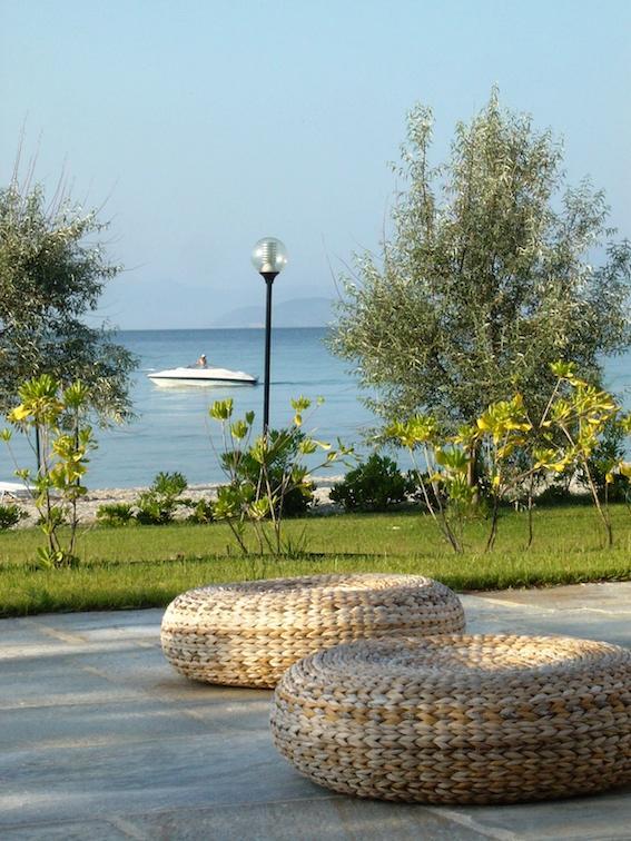 sea view from the terrace - SEASIDE SUMMER VILLA - Pefkohori - rentals