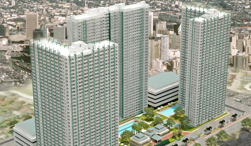 The Grass Residences Tower 3 is on your left (the L type) - High-Rise Living at the SM City North Edsa - National Capital Region - rentals