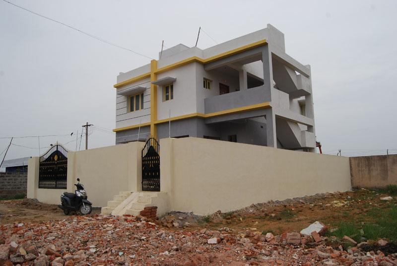 Street View From Outside - Calm and Quiet 2 Bedroom Hall Kitchen House Indian - Chennai (Madras) - rentals