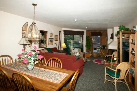 Aspen Creek 2 Bedroom Condo with Atrium Balcony ~ RA460 - Image 1 - Mammoth Lakes - rentals