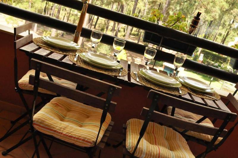Balcony - Fun & Family- Beach, Swimming Pool, Golf  & Nature - Charneca da Caparica - rentals