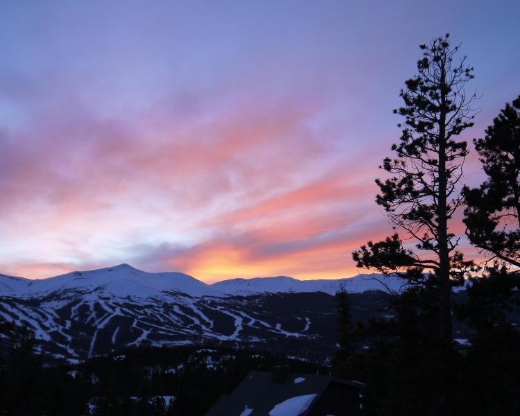 Breathtaking Sunset View - Chalet de Neige - The Ten Mile Range - Breckenridge - rentals