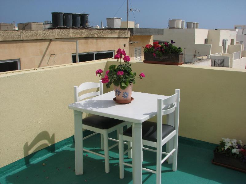 Terrace - elfer apartment - Swieqi - rentals