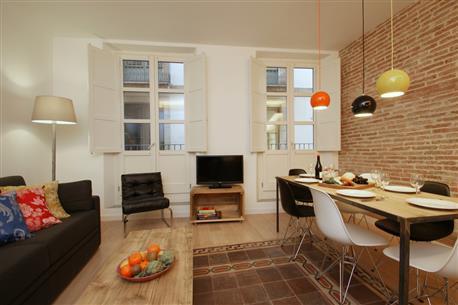 Ramblas Deluxe Apartment A - Image 1 - Barcelona - rentals