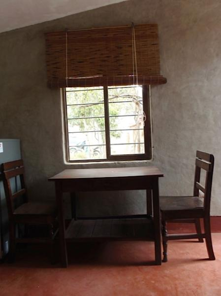 Dining Area loking at the garden - Sacred Valley Urubamba Studio Apartment - Urubamba - rentals