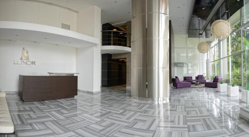 Luxor Tower Lobby - Beautiful 2BR Apt - Luxor Tower (El Cangrejo) - Panama - rentals