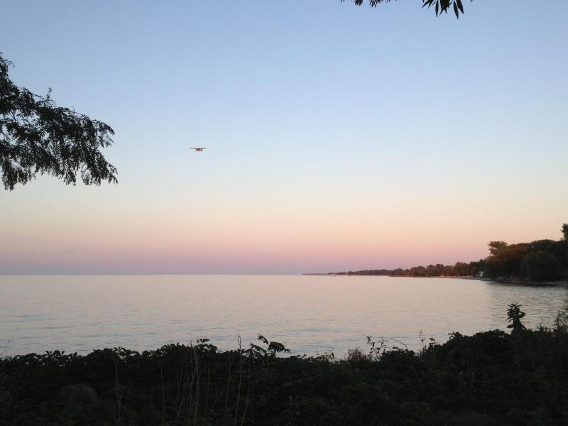 sunset - Lake Ontario- Upstate NY  beach front cottage - Hamlin - rentals