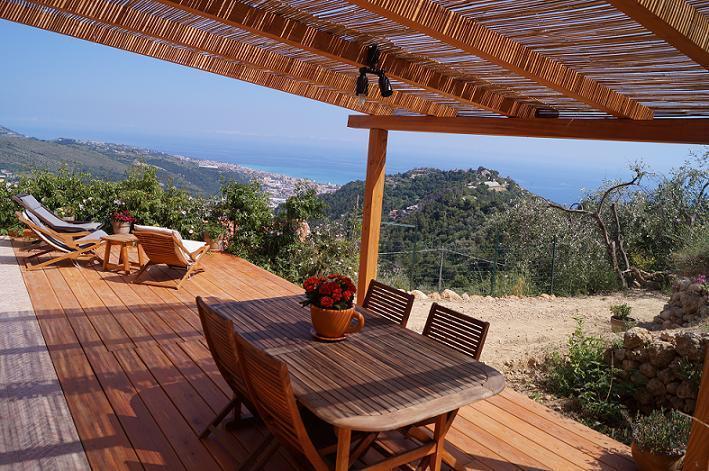 solarium - Le Fontane organic oriented farm - Camporosso - rentals