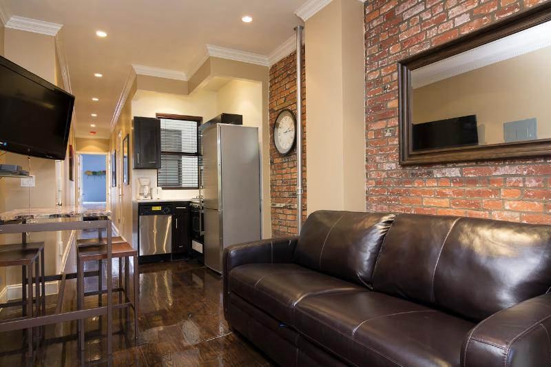 Living Room with sleep sofa - Sleeps 5! 2 Bed/2 Bath Apartment, East Village, Awesome! (8354) - New York City - rentals