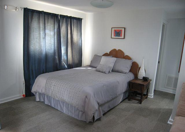 Queen bed - Studio top-floor apt in great DC neighborhood; Bus to Downtown & The Mall - Washington DC - rentals