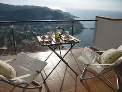 view from terrace - Bijoux apartment with pool stunning sea views ne - Roses - rentals
