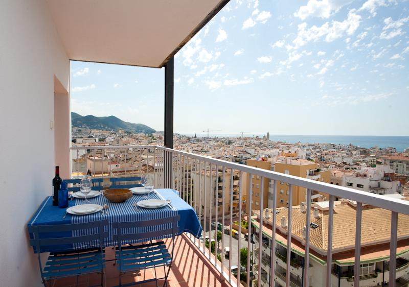 terrace - The Blue, apartment with panoramic views - Sitges - rentals