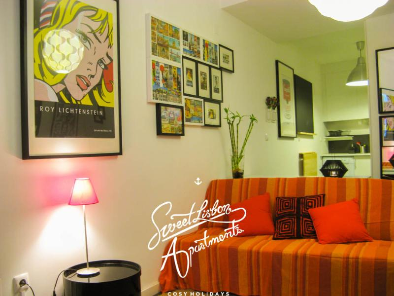 Cosy one-bedroom apartment at Alfama - Santa Marinha A - 1 bedroom apartment in magnifice - Abrantes - rentals