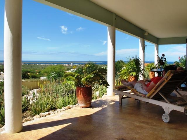 view from veranda - Bonaire seaview apartments with majestic panoramic view - Kralendijk - rentals