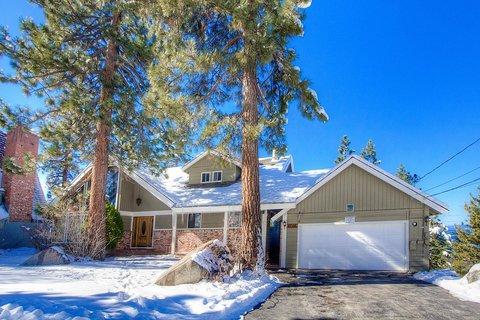Enjoy Spectacular Views of Lake Tahoe from Large Home ~ RA771 - Image 1 - South Lake Tahoe - rentals