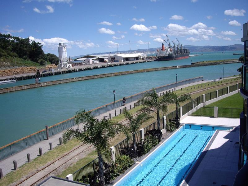 The view from the Balcony (1) - Riverside Apartment 309 - Gisborne - rentals