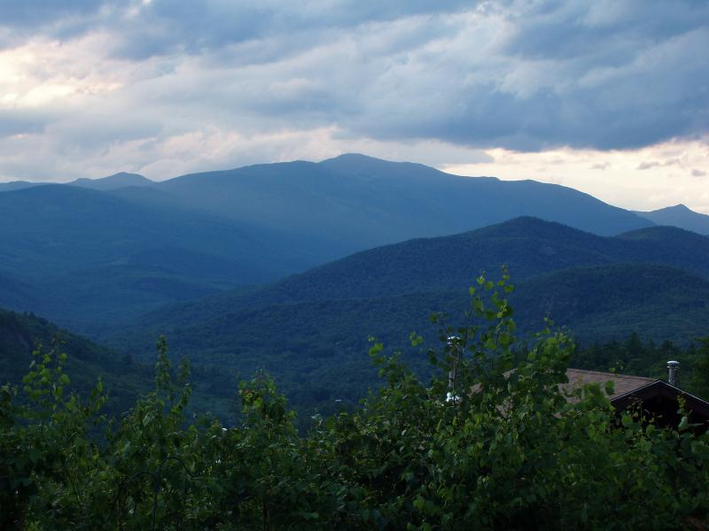 Views from our patio to Mt. Washington - StoryLand-Mt. Washington Condo with Stunning Views - Glen - rentals