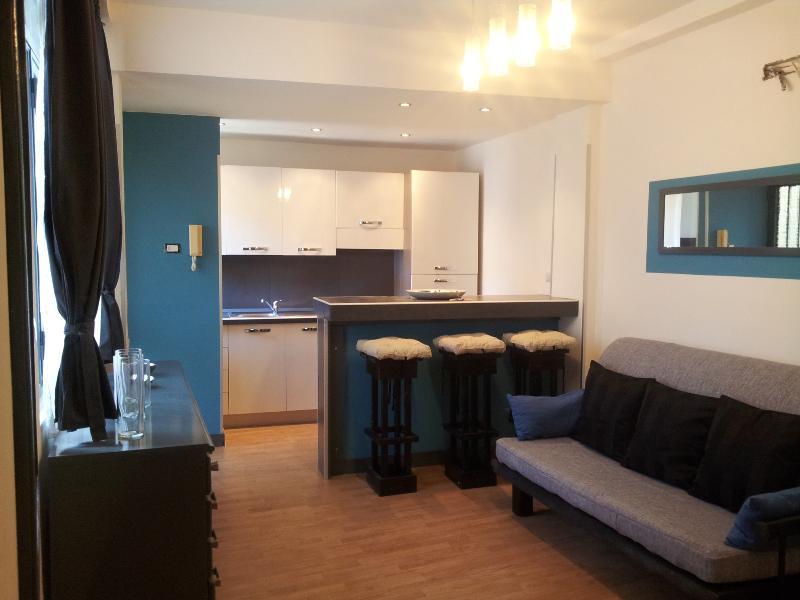living - EIDOS - wonderful Apartment in center - Taormina - rentals