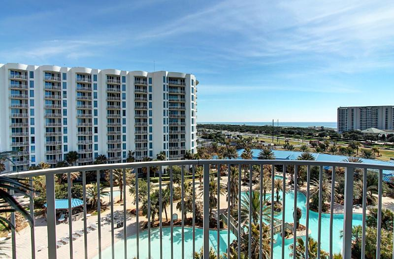 Palms Resort #2713 Jr. Suite - AVAIL 8/10-8/19*Buy3Get1Free8/1-10/31* Book Online! 7th Floor! Destin - Image 1 - Destin - rentals