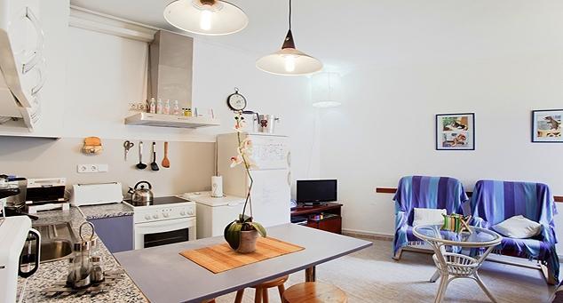 Living Room - Tarradellas B - Barcelona - rentals