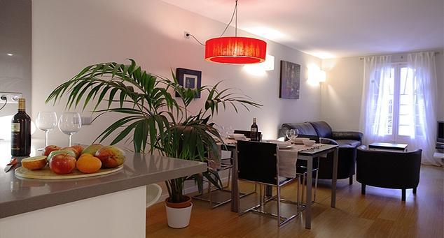 Living Room - Ramblas Caputxins 7 - Barcelona - rentals