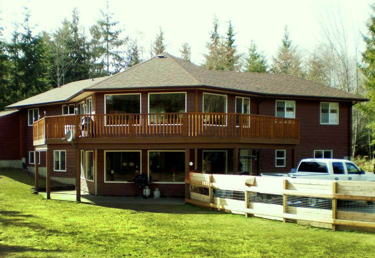 Main view of House - Wall Street Vacations - Cowichan Bay - rentals