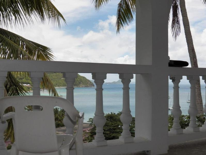 Cane Garden Bay balcony view - Callwood's Cane Garden Bay  2 bdrm/2bath suite nea - Tortola - rentals