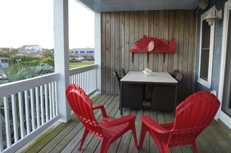 Front Deck - Worth the Wave - Kure Beach NC - Kure Beach - rentals