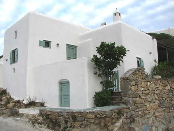 General House View - An Authentic Fully Renovated Cycladic stone House with Garden Near the Beach - Ano Mera - rentals
