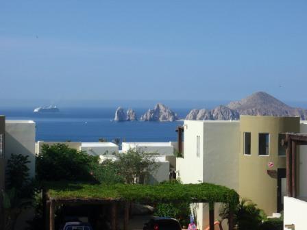 Ocean view from deck - Cabo San Lucas Ocean View Villa - Cabo San Lucas - rentals