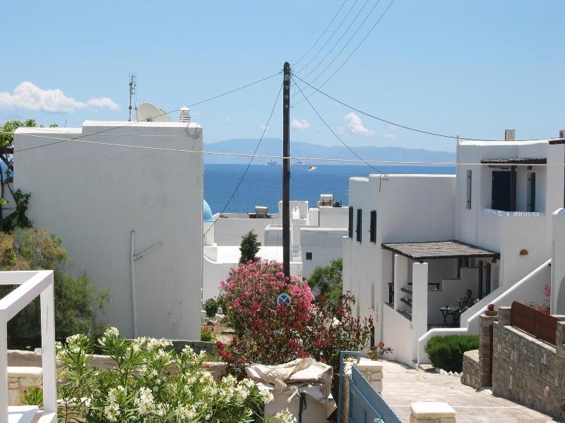 view - piso livadi greece villa Giorgio - Paros - rentals