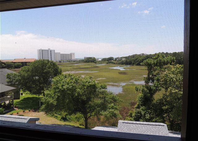 Great Marsh View from 2 Bedroom Heron Pointe Condo, Myrtle Beach SC - Image 1 - Myrtle Beach - rentals