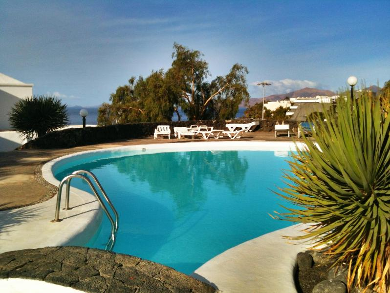 Swimming Pool - Two bedroom apartment with stunning views - Puerto Del Carmen - rentals