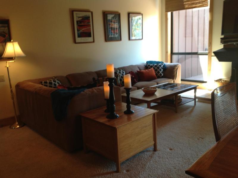 Living Room w/ 46