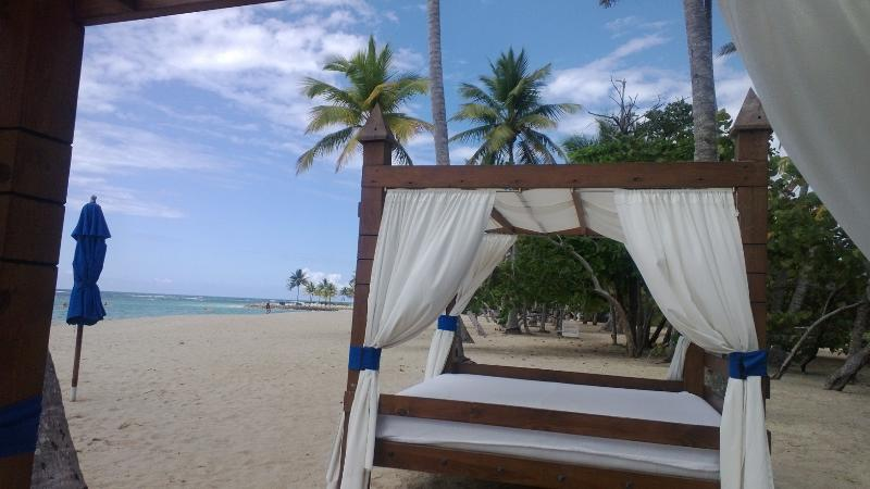 Beautiful Pristine, Private Beach with Bar/Restaurant, Bathrooms/showers, Lounge Chairs,  Umbrellas - Secure Playa Dorada Beach/Golf Penthouse, 2 Bdrm - Puerto Plata - rentals